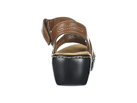 Tan Leather LeatherDark Nila Clarks Black Delana Pxwq8I4Tp
