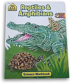 School Zone Science Workbook - Reptiles & Amphibians