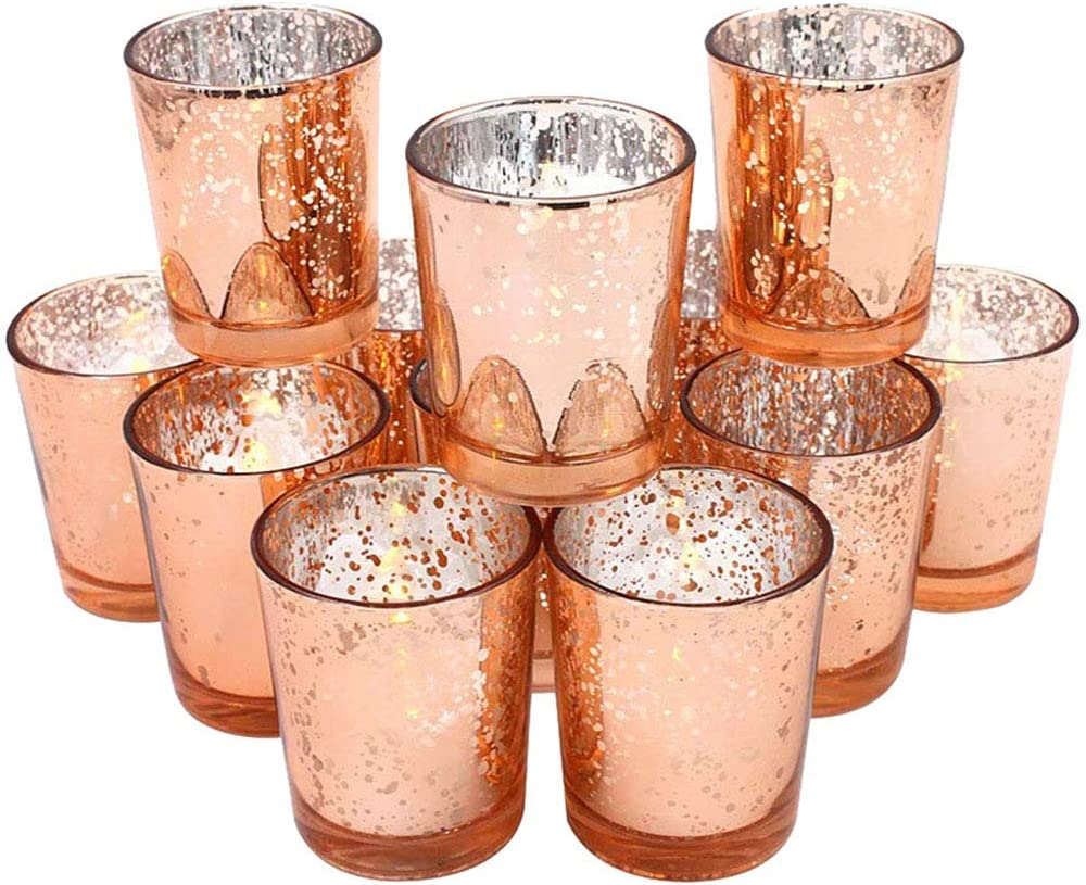 4 years warranty ARTIBETTER 12pcs Glass Candle Scented Weddi Popular products Holder