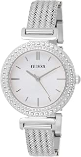 Guess Womens Quartz Watch, Analog Display and Stainless Steel Strap W1152L1