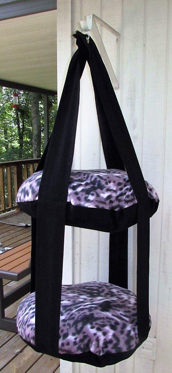 Cat Ranking TOP3 Bed Fleece Purple Wild Animal Han Kitty Cloud Cash special price Print Double