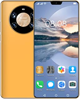 4G Mobile Phone,SIM Free Unlocked, Mate40Pro Android 10 Smartphones, Dual SIM, 2GB RAM+16GB ROM,128GB Extension, 6.5 Inch ...