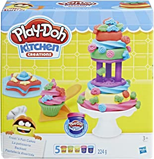 Hasbro Play-Doh Frost and Fun Cakes