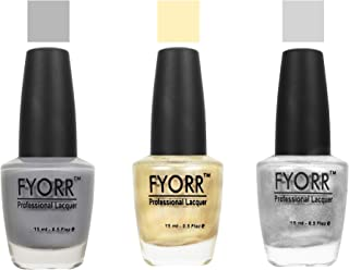 FYORR Whisper In The Night Collection Nail Polish - Set of 3 (15 Ml Each)