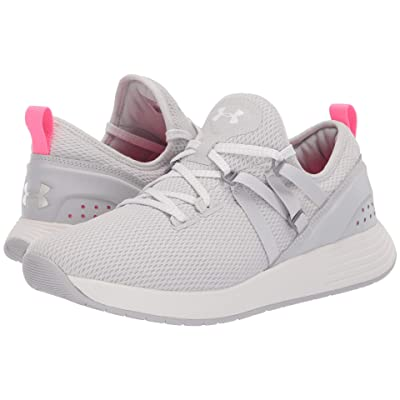 Under Armour UA Breathe Trainer (Gray Flux/White/White) Women