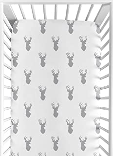 stag bedding grey