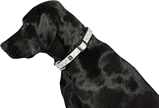 MOG & BONE Neoprene Dog Collar Oatmeal Dog Print Sml