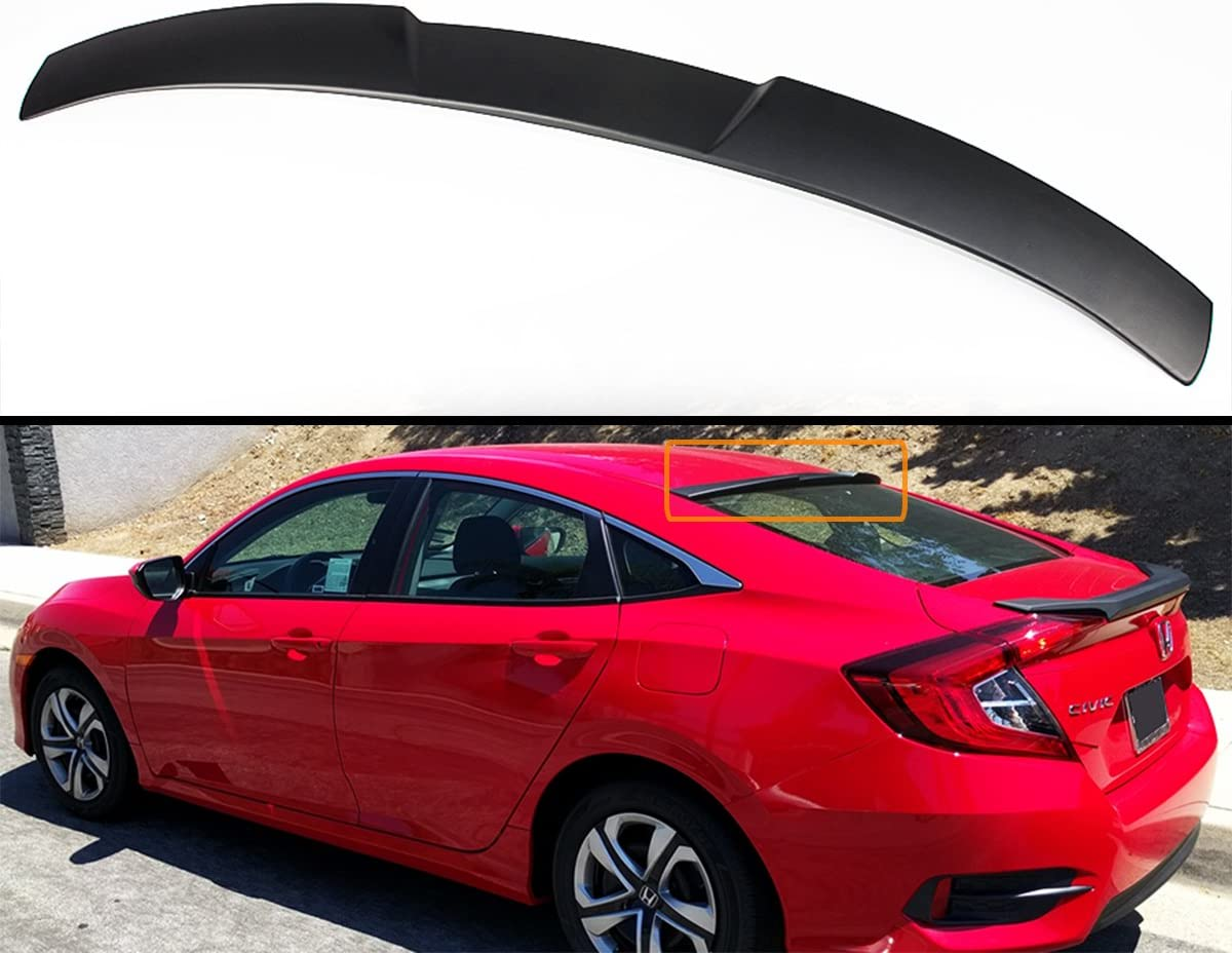 JDM New sales Sport Rear Window Roof Spoiler Popular product 2016-20 with Compatible Visor