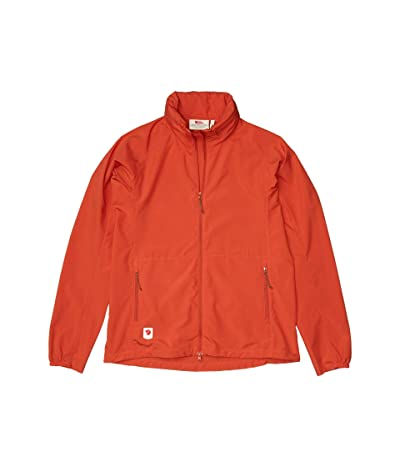 Fjallraven High Coast Lite Jacket (Rowan Red) Women