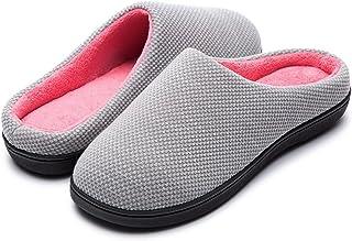 RockDove Women's Birdseye Knit Memory Foam Slipper