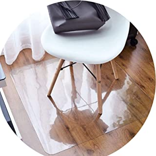 Clear Rug, Non Skid Waterproof Scratch-Resistant PVC Chair Mat Wear-Resistant for Home Office Study AGFXN (Color : 2.0mm, ...