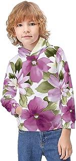 Kid's Novelty Sweater Turtle Under The Sea Hooded Hoodies Unisex Boys Girls Pullover Sweatshirt-