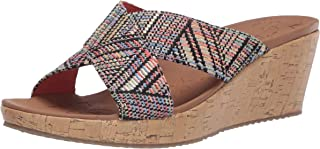 Skechers BEVERLEE - Golden Palace womens Wedge Sandal