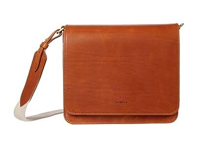 Shinola Detroit Sibley Crossbody (Natural) Handbags