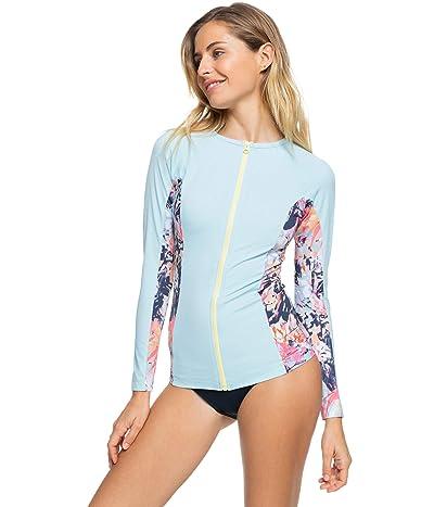 Roxy Fitness Long Sleeve Color-Block Lycra Women