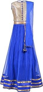 Aarika Girl's Blue Party Wear Lehenga Choli Set