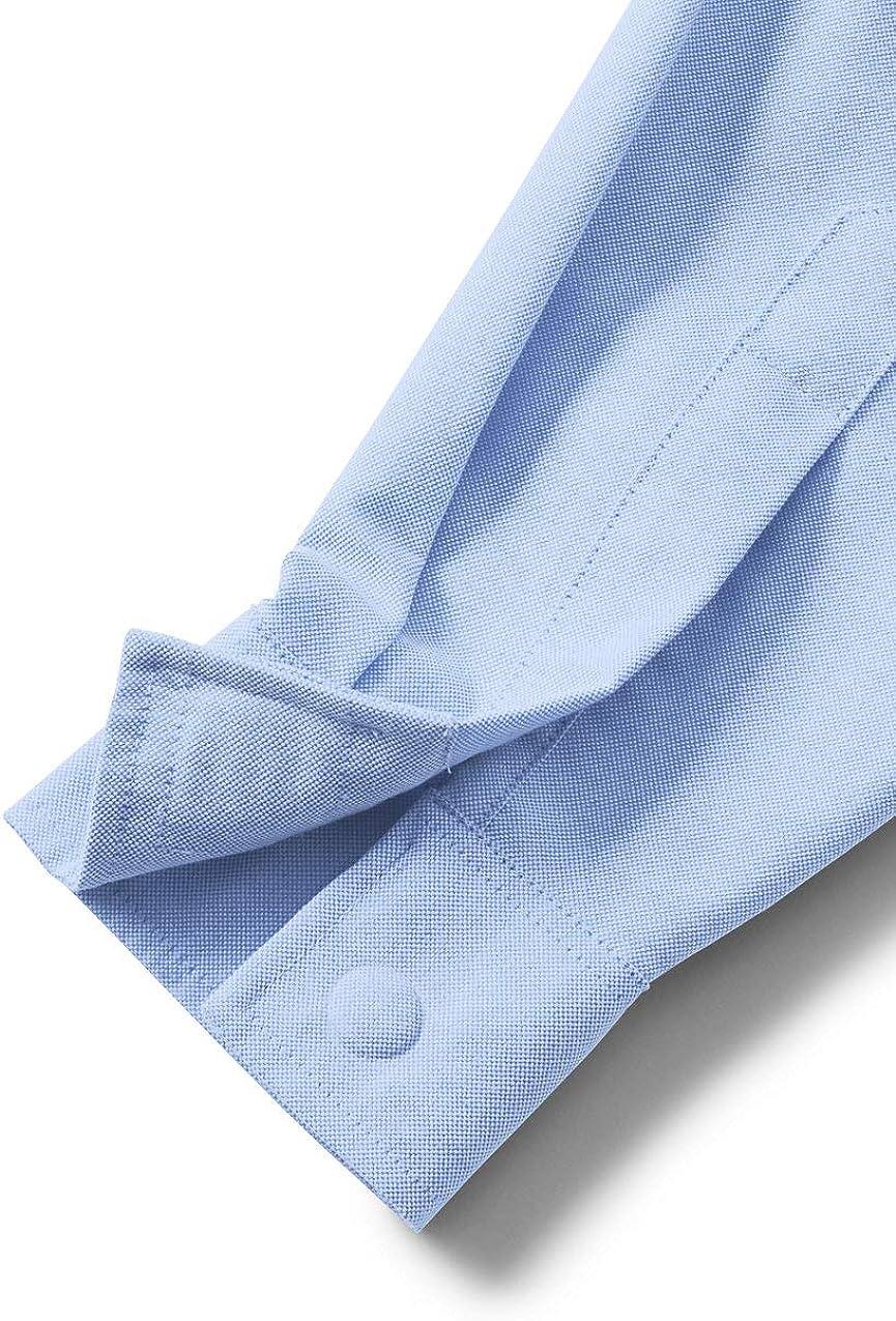 Lands End School Uniform Womens Adaptive Long Sleeve Oxford Dress Shirt