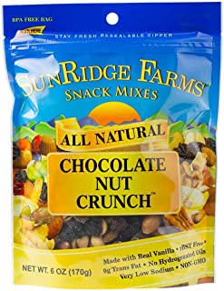 Sunridge Farms Chocolate Nut Crunch, 8-Ounce Bags (Pack of 12)