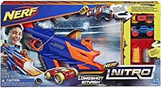 Hasbro NERF Nitro Longshot Smash Car - 5 Years & Above (Multi Color C0784EU40)