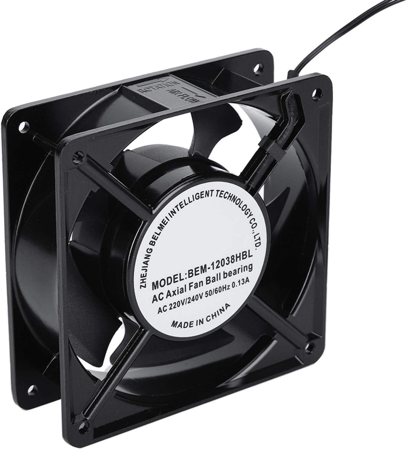 Armario de ventilador de refrigeración Inversor de armario eléctrico Máquina de soldadura eléctrica Ventilador axial de CC para máquina de soldadura