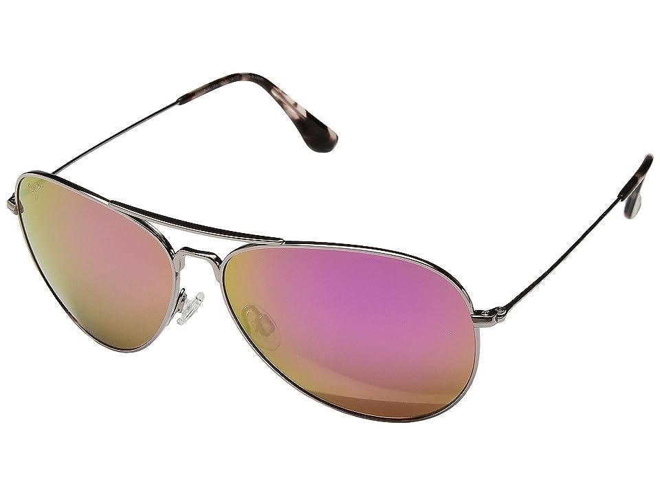 Maui Jim Mavericks (Rose Gold/Maui Sunrise (Pink)) Sport Sunglasses