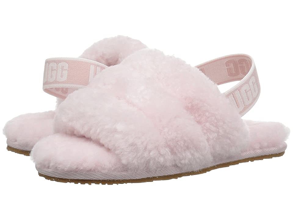 UGG Kids Fluff Yeah Slide (Toddler/Little Kid) (Seashell Pink) Girls Shoes