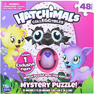 Hatchimals collEGGtibles mystery puzzle Includes 1 exclusive figure
