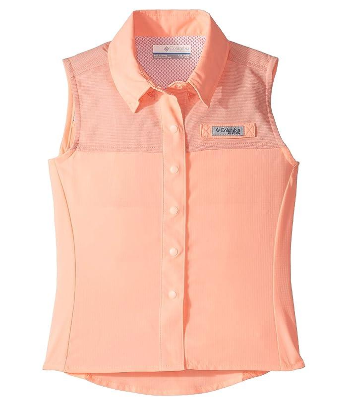 Columbia Kids Tamiamitm Sleeveless Shirt (Little Kids/Big Kids) (Tiki Pink) Girl