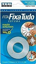 Tekbond 70852 Fita Fixa Tudo Espuma, 12mm x 1.5 m, Branco