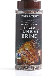 Spiced Turkey Brine Blend – Turkey Brining Spices - Urban Accents,12-Ounce