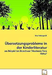 Übersetzungsprobleme in der Kinderliteratur: am Beispiel Jan Brzechwas
