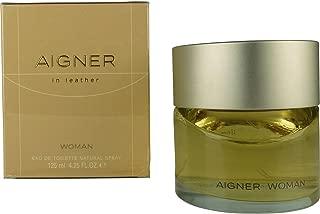 Aigner In Leather By Etienne Aigner For Women. Eau De Toilette Spray 4.25 Oz / 125 Ml