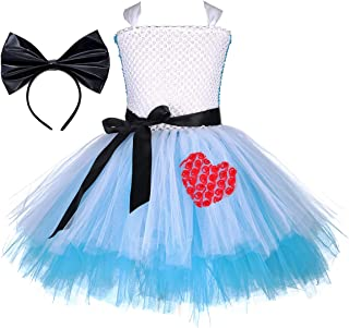 Princess Costume for Girls 1-8Y Birthday Halloween Party
