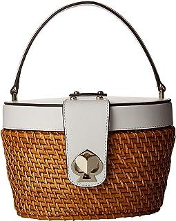 Rose Medium Top-Handle Basket