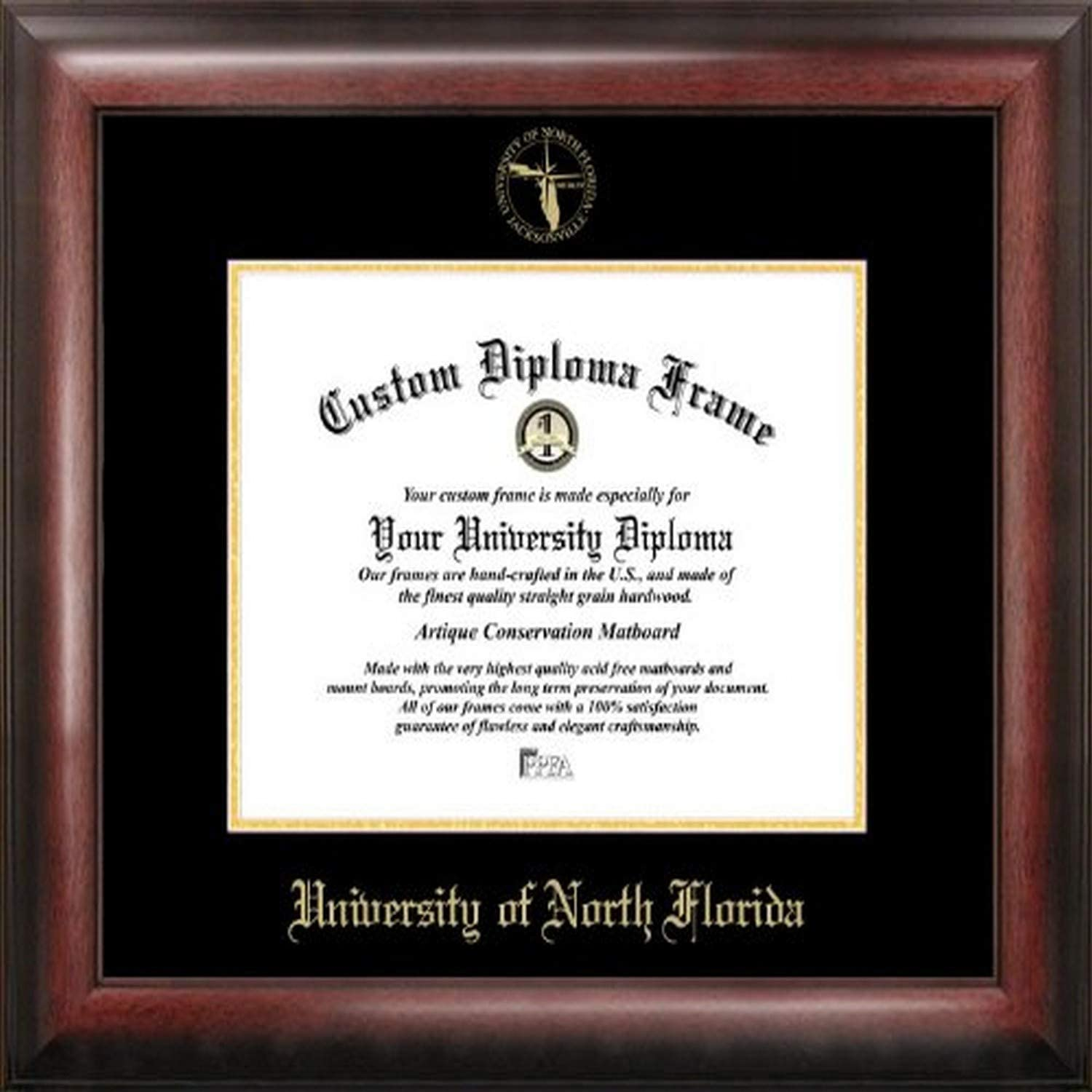 Campus In stock Images FL993GED University of North Florida Embossed Dipl Ranking TOP7