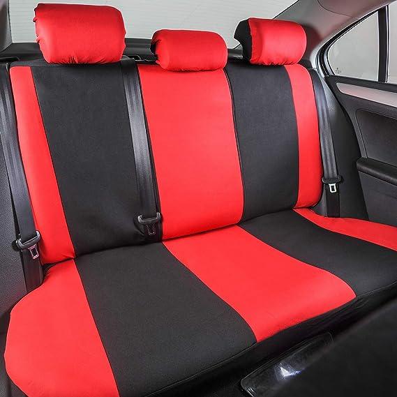 Lestarain Autoschonbezug Autositzbezug Set Universal Schonbezüge Für Pkw Butterfly Schwarz Auto