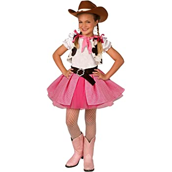Disfraz de Vaquera para niños Chicas Lindas, Rosa, Vestimenta de ...