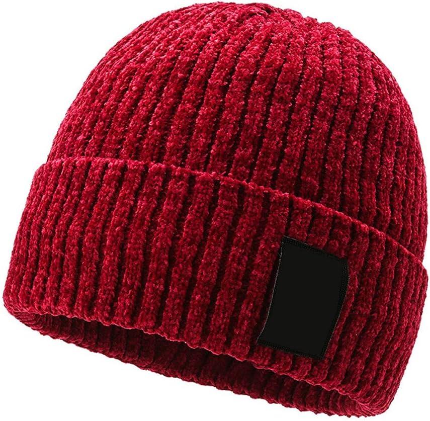 Max 41% OFF maitra Minneapolis Mall Men's Winter Knitted Hats Velvet Beanies Thickï¼ Plus