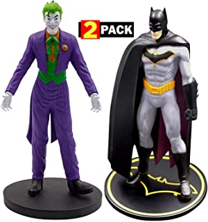 Batman & The Joker Premium Figure Set 2-Pack | DC Comics Collectible Toy