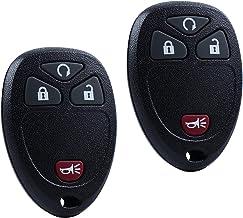 Key Fob Keyless Entry Remote for 2007-2015 Chevy Silverado Traverse Equinox Avalanche GMC Sierra Pontiac Torrent Saturn Ou...