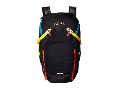 JanSport Tahoma 40 (Black/White) Backpack Bags