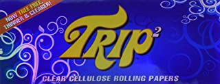 TRIP2 Clear Cellulose King Size Rolling Papers - 3 Packs!