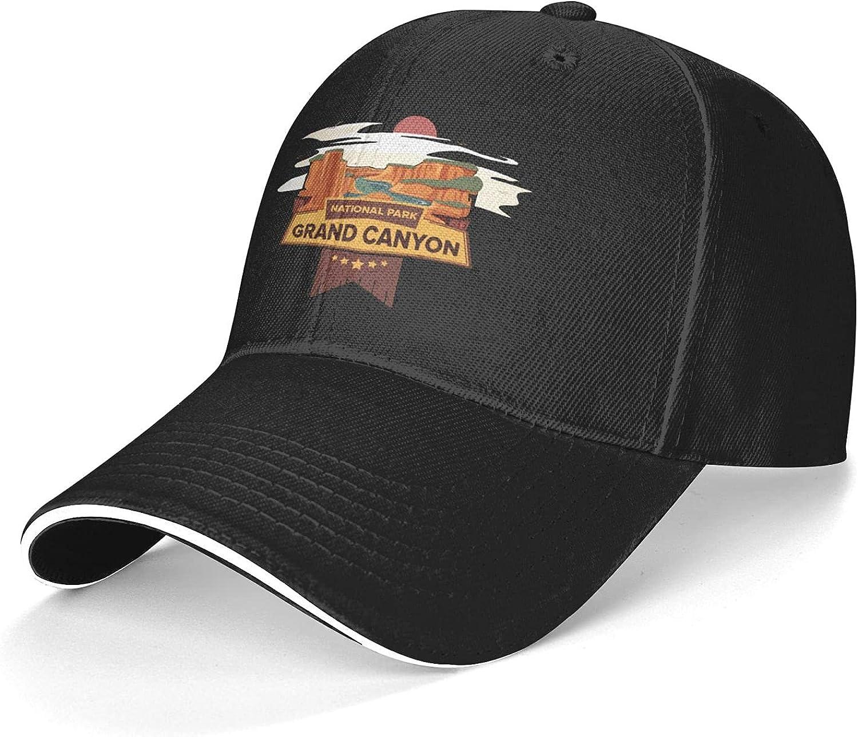 Grand Canyon National Park Baseball Cap Dad Caps Trucker Hats Adjustable Unisex Hat Black