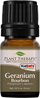 Plant Therapy Geranium Bourbon Essential Oil 100% Pure, Undiluted, Natural Aromatherapy, Therapeutic Grade 5 mL (1/6 oz)