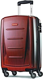 Winfield 2 Hardside Luggage, Burgundy, Carry-On