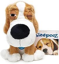 Boss Pet Plush Cuddly Sleepeez Golden Beagle with Squeaker Dog Toy