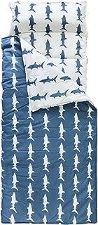 Hi Sprout 100% Cotton Kids Toddler Lightweight and Soft Nap Mat- Shark