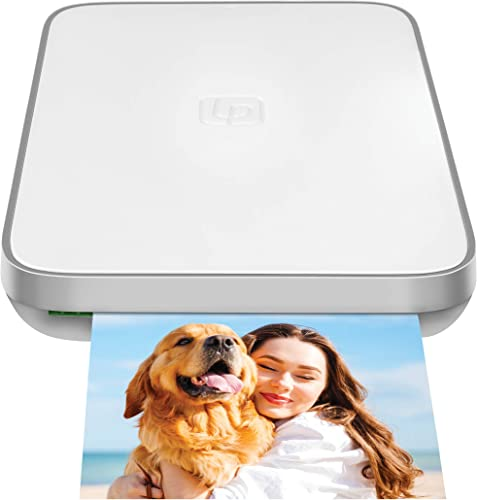 wholesale Lifeprint 3x4.5 Portable sale Photo and Video Printer for iPhone and Android. Make Your Photos discount Come to Life w/Augmented Reality - White online sale