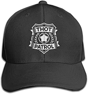 Classic Thot Patrol is On The Case Baseball Caps Adjustable Sandwich Baseball Cap