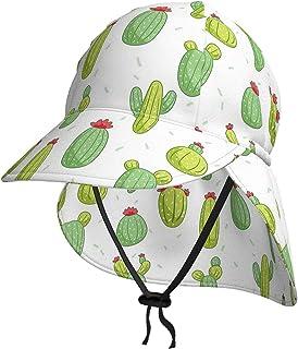 Lsjuee - Cappello da sole per bambini, traspirante, con cactus